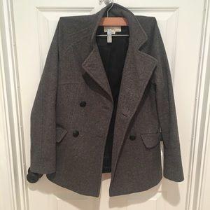 Pea coat, jacket